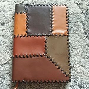 Patricia Nash leather journal NWOT